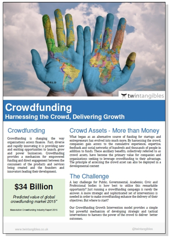 Crowdfunding Services to Civic and Governmental Bodies